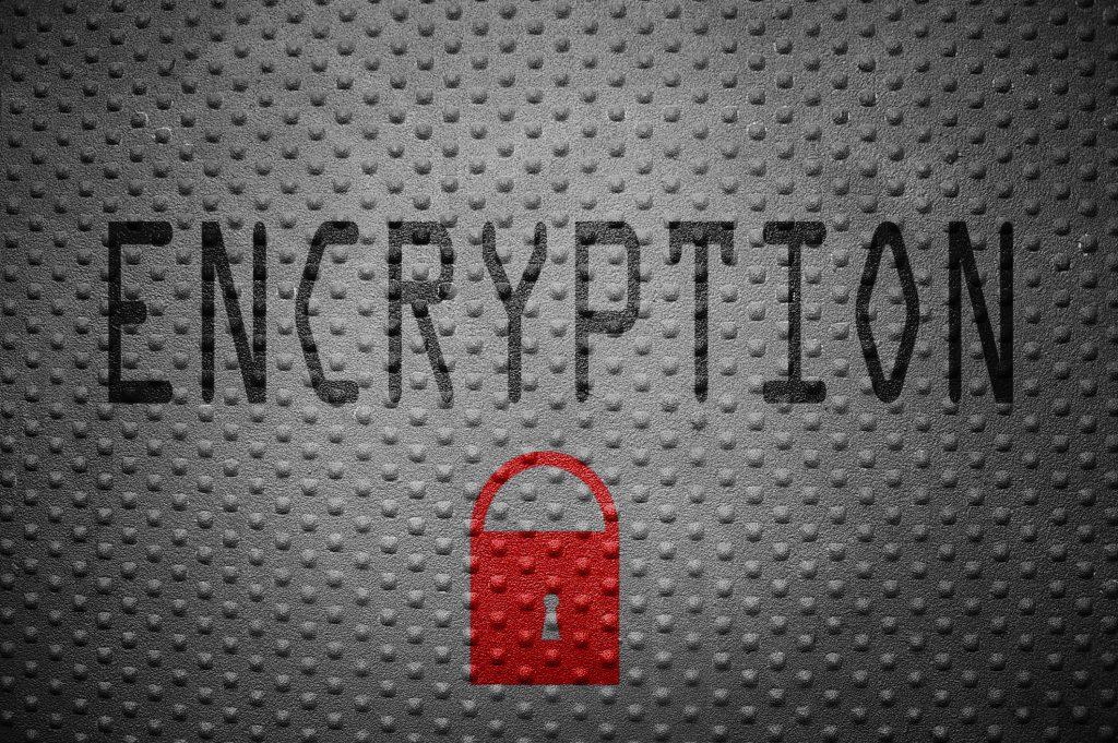 Encrypt data in transit or at rest