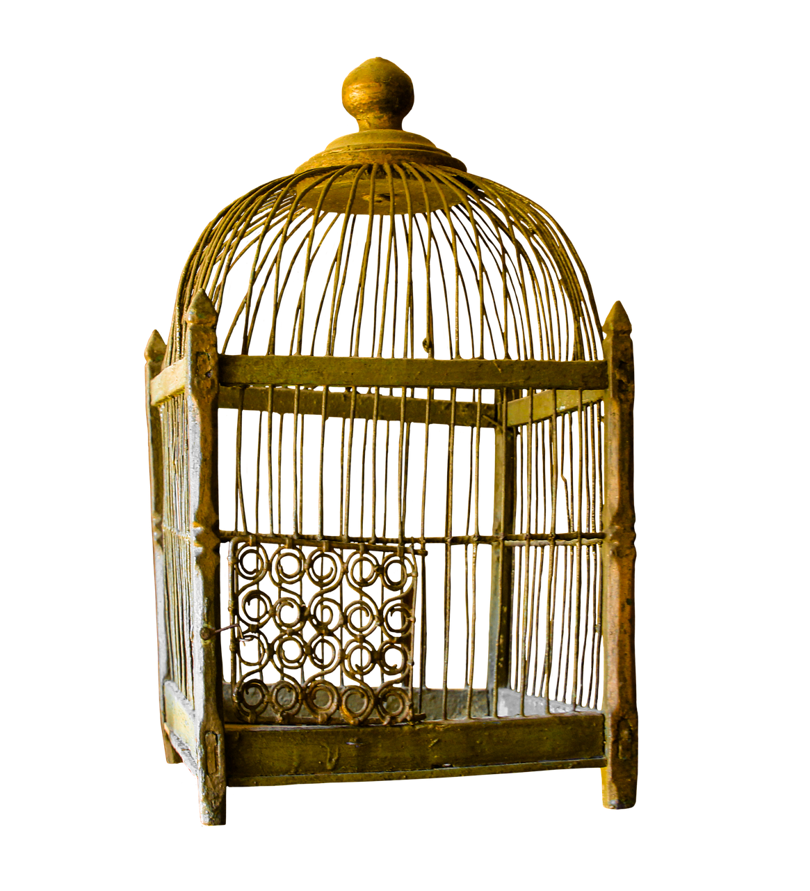 A golden cage can be comfortable - but still is a cage.